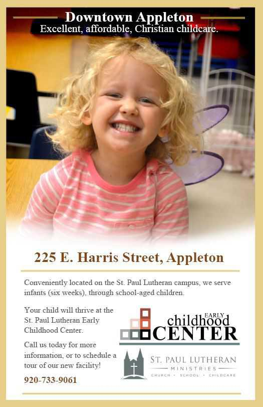 St. Paul Lutheran Early Childhood Center - Featured Sponsor