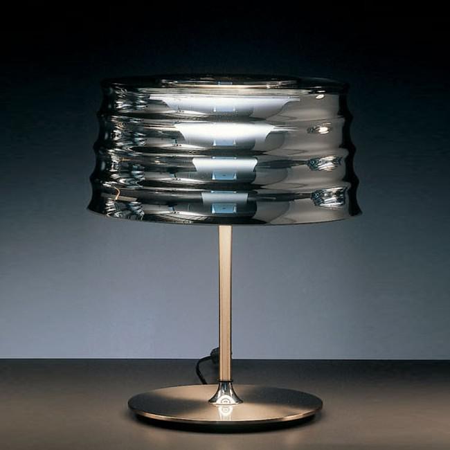 Lampada da tavolo in vetro soffiato