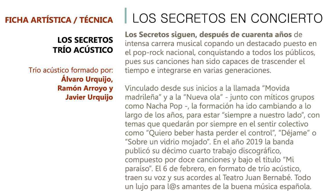 LOS SECRETOS - 6 DE FEBRERO