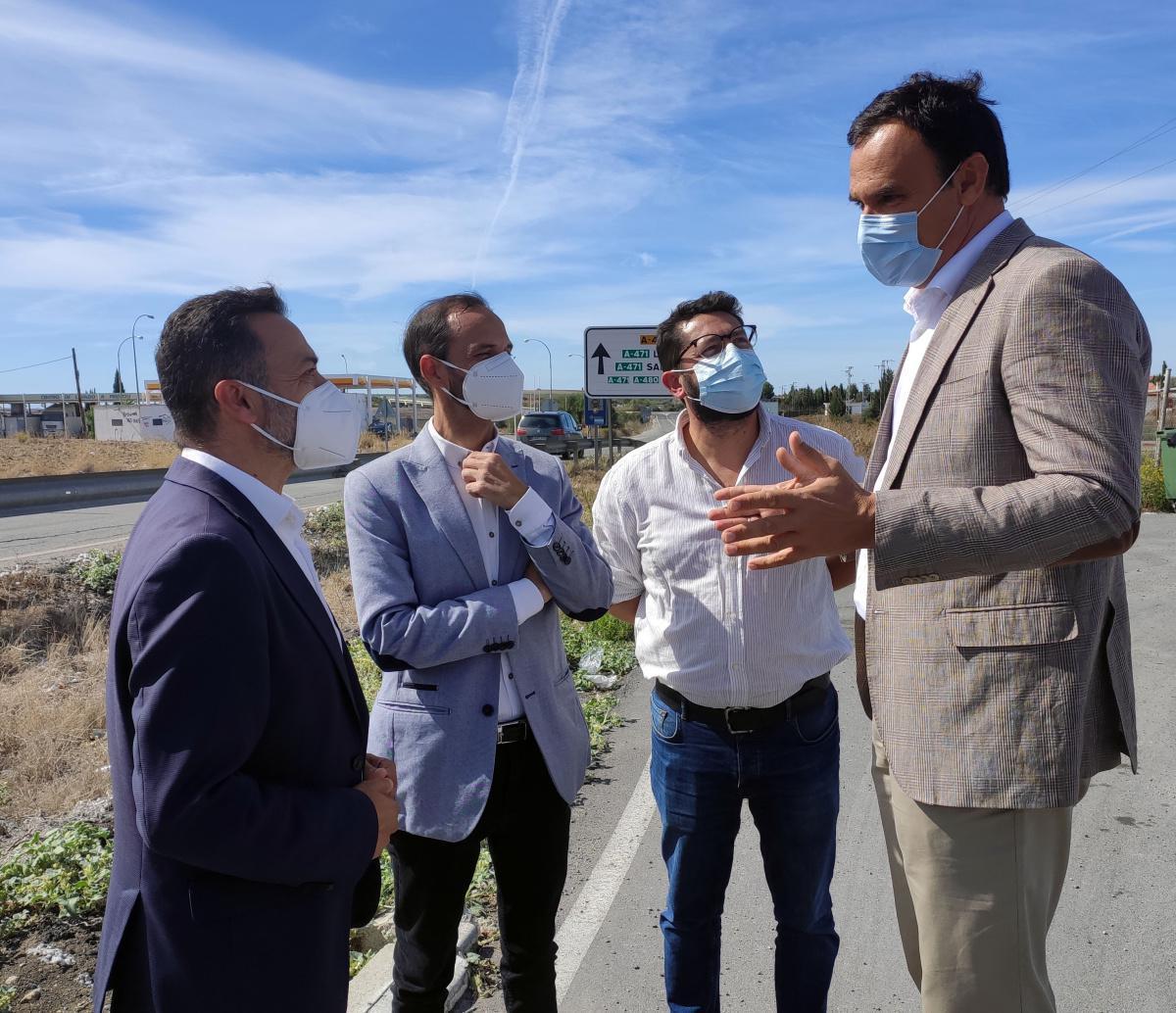 Los Ayuntamientos de Lebrija, Sanlúcar, Las Cabezas y Trebujena, unidos a favor del desdoble de la A-471