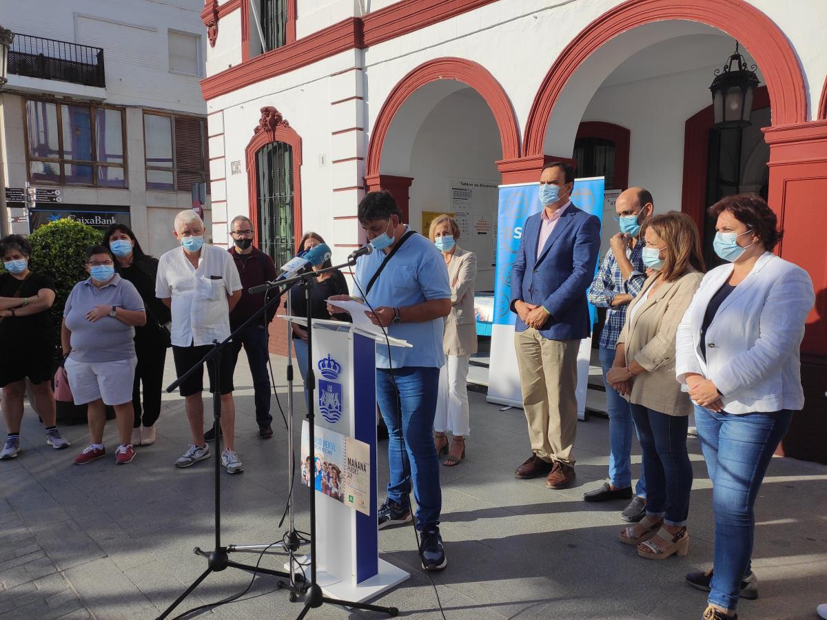 Lebrija se suma a la conmemoración del Día Mundial de la Salud Mental