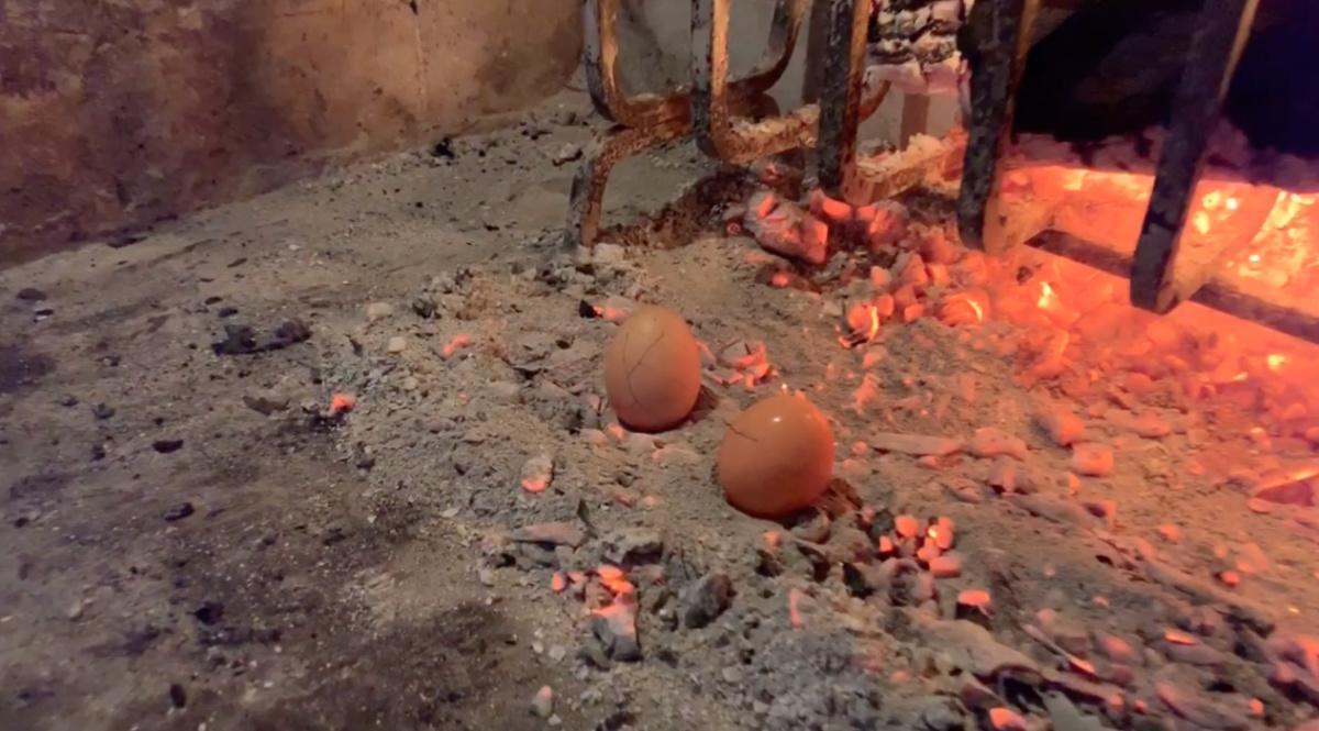 Le uova, la stortina e il venerdì santo