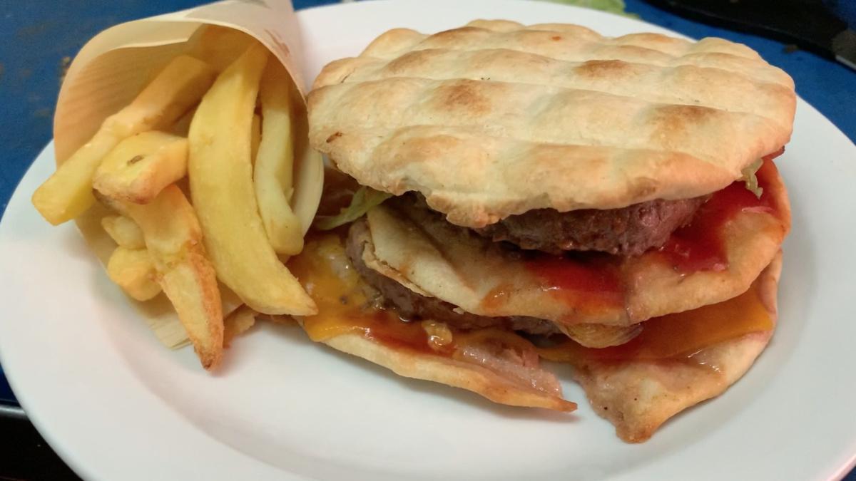 100 scalini per conquistare la Ciopa Burger