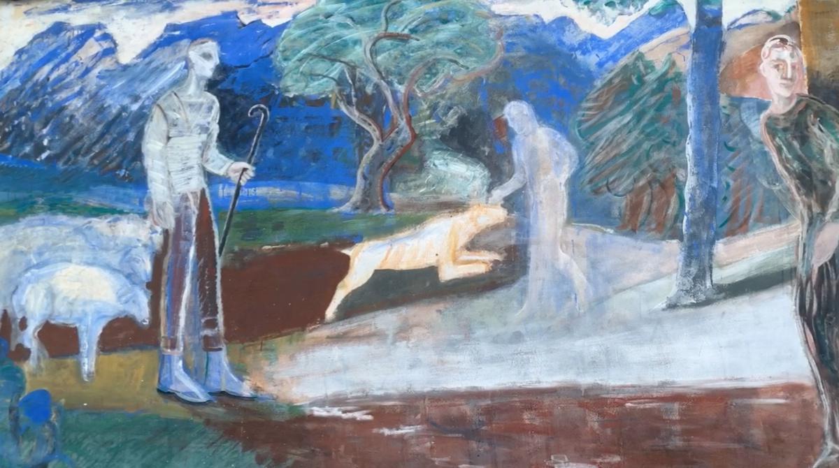 Cibiana di Cadore, il paese dei murales