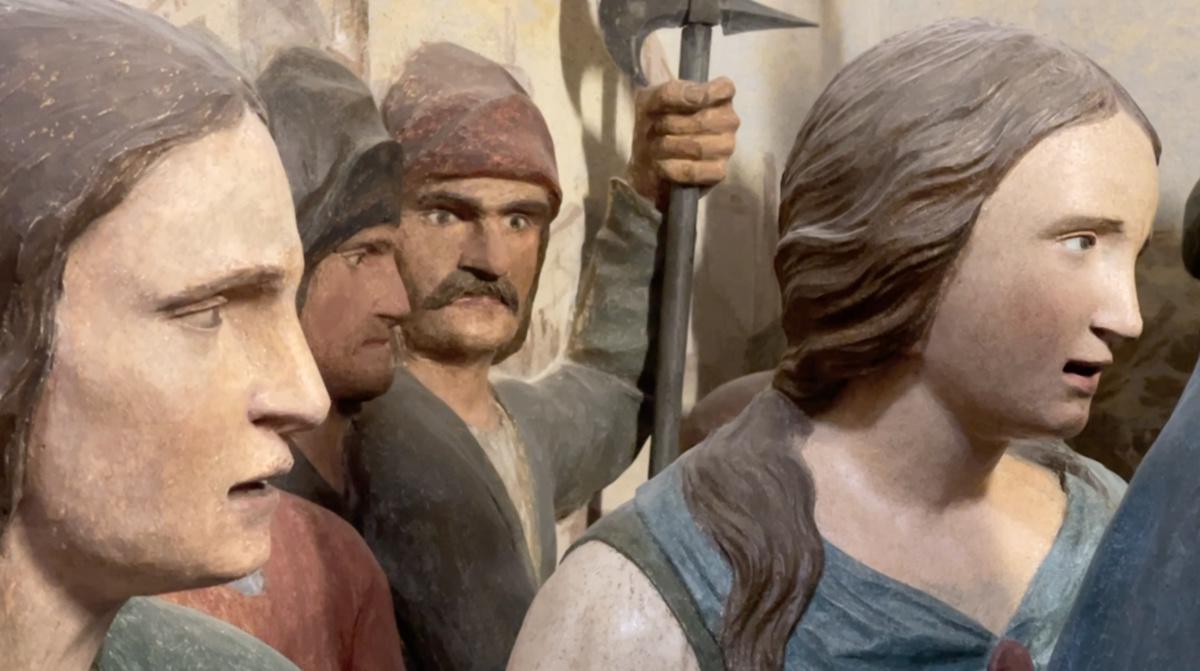Cerveno: la Via Crucis con i volti degli avi