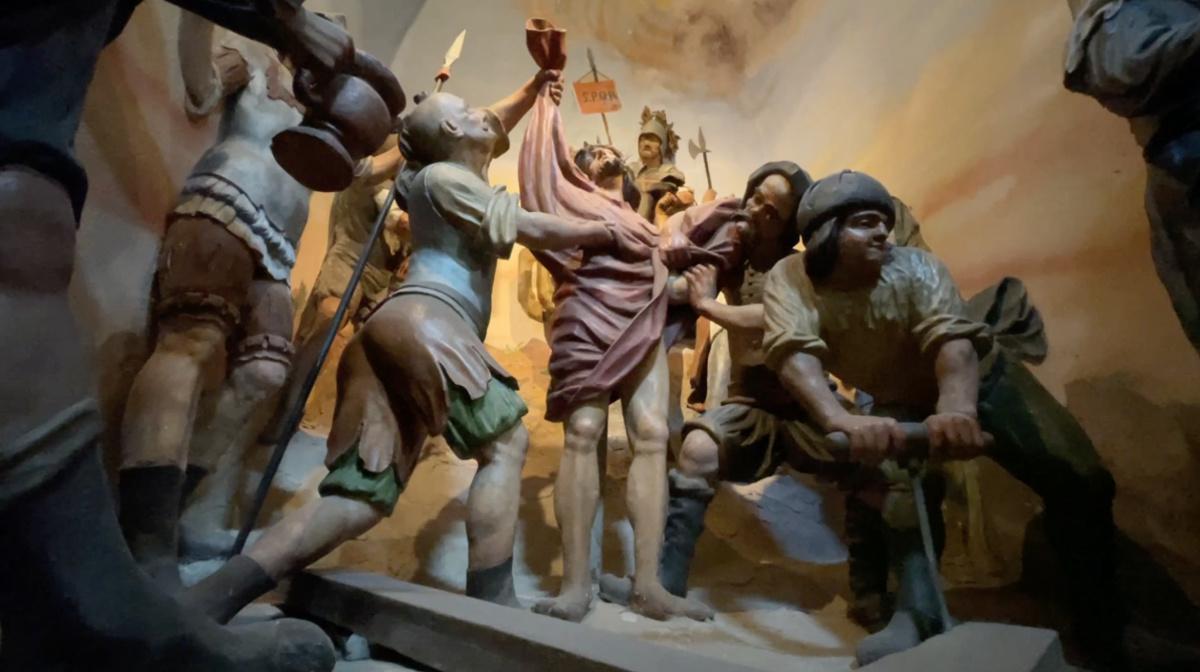 Santuario della Via Crucis con Capele di Cerveno
