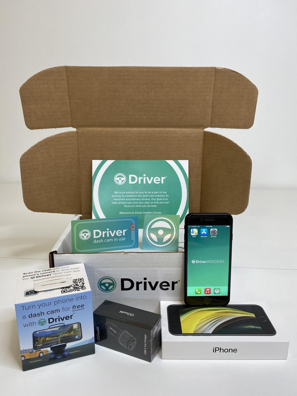 Driver, The Dash Cam App that turns your phone into a dash cam!
