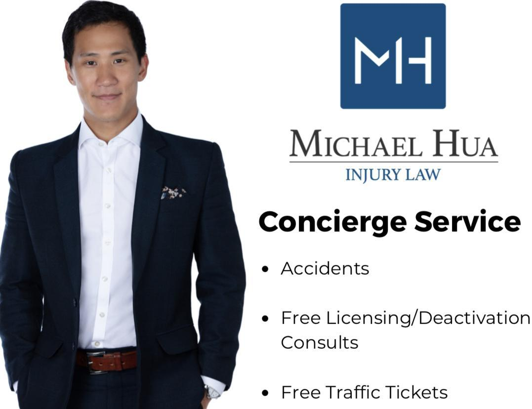 FREE traffic tickets, business licensing & accident consultation for KickBack App users!
