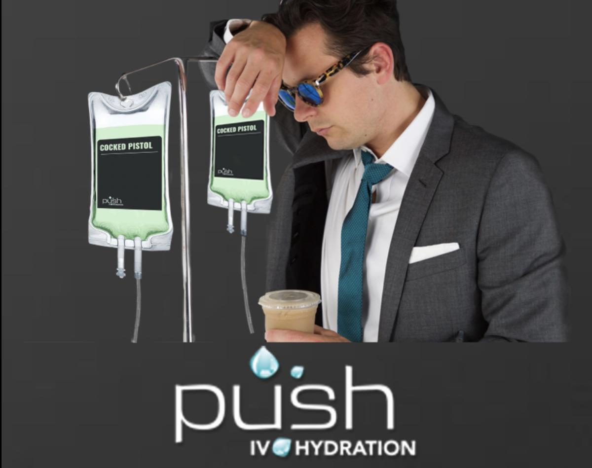 NEW KICKBACK!! $25 per person from Push IV Mobile Hydration - hangover & wellness solutions! CALL 702-478-3369 with client name & property and we'll do the rest. Help keep your clients' party going!!