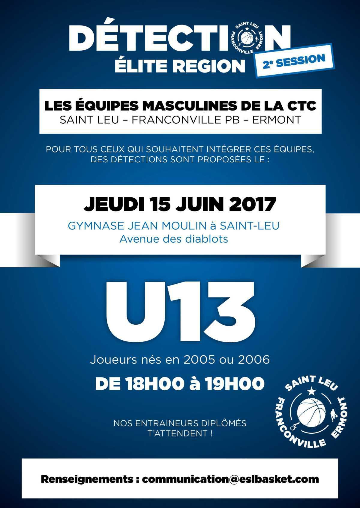 Détections U13