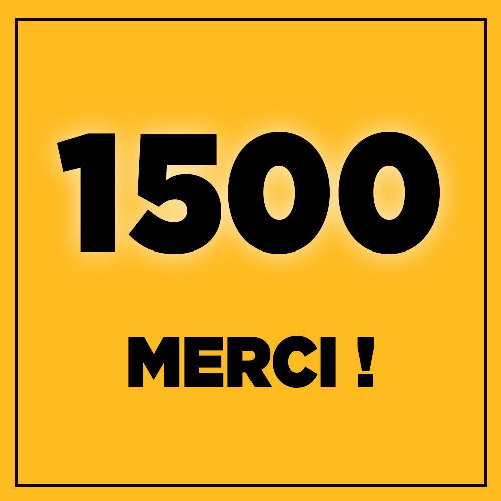 1 500 téléchargements !