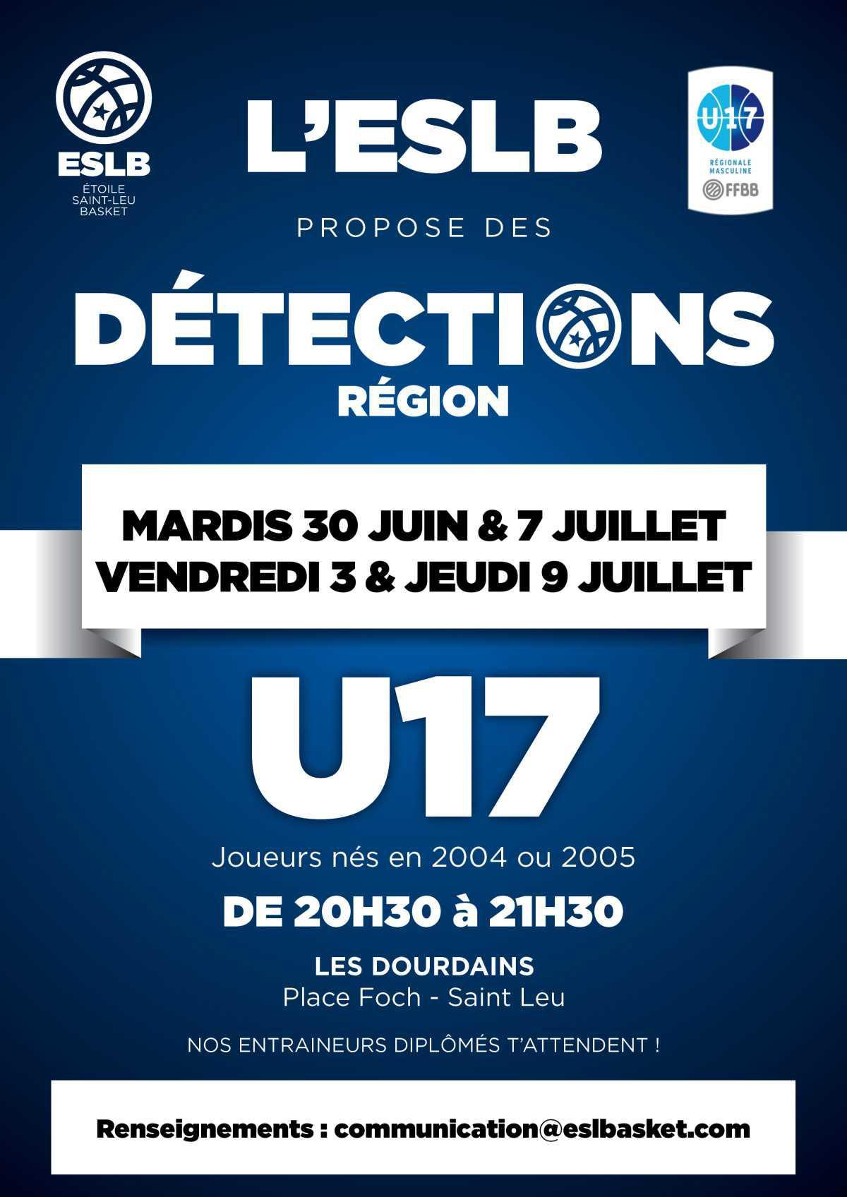 Info détections