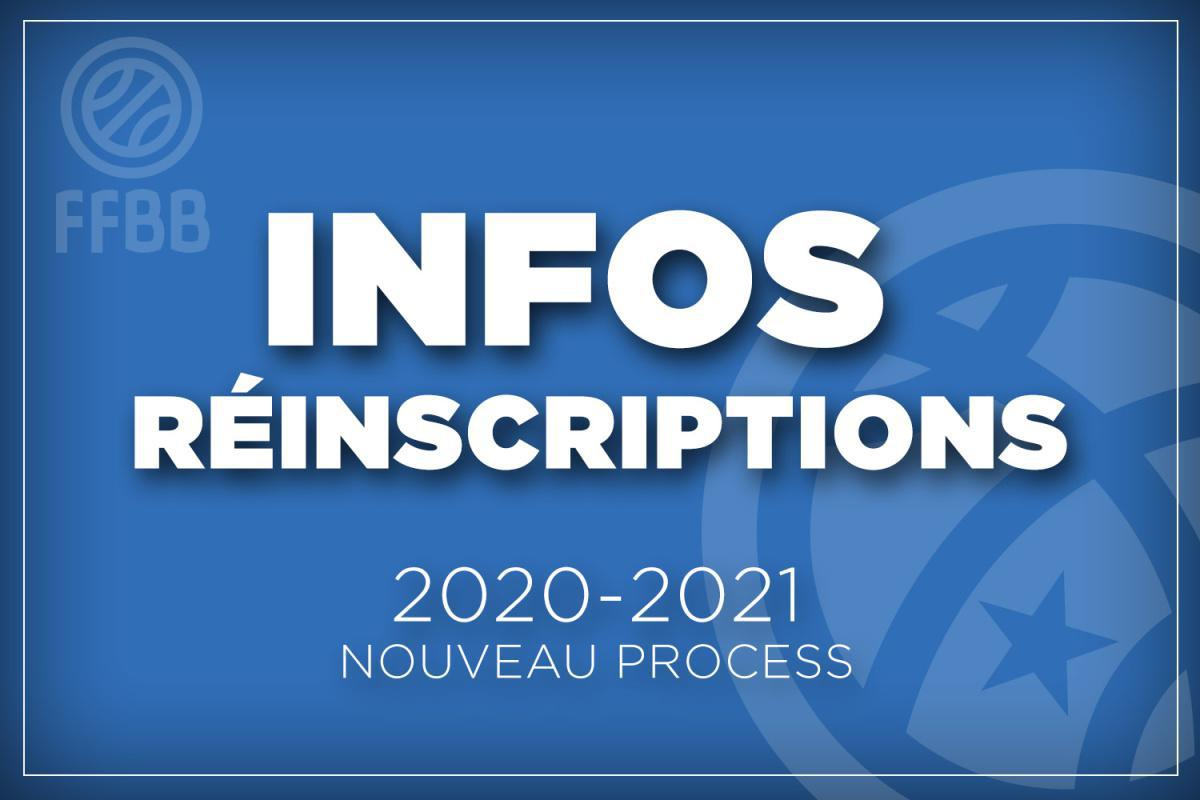 Infos ré-inscriptions