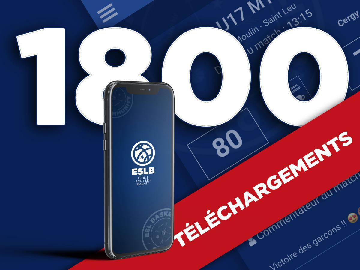 1800 téléchargements