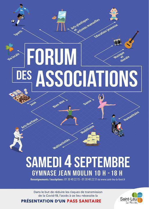 Rendez-vous au forum des associations