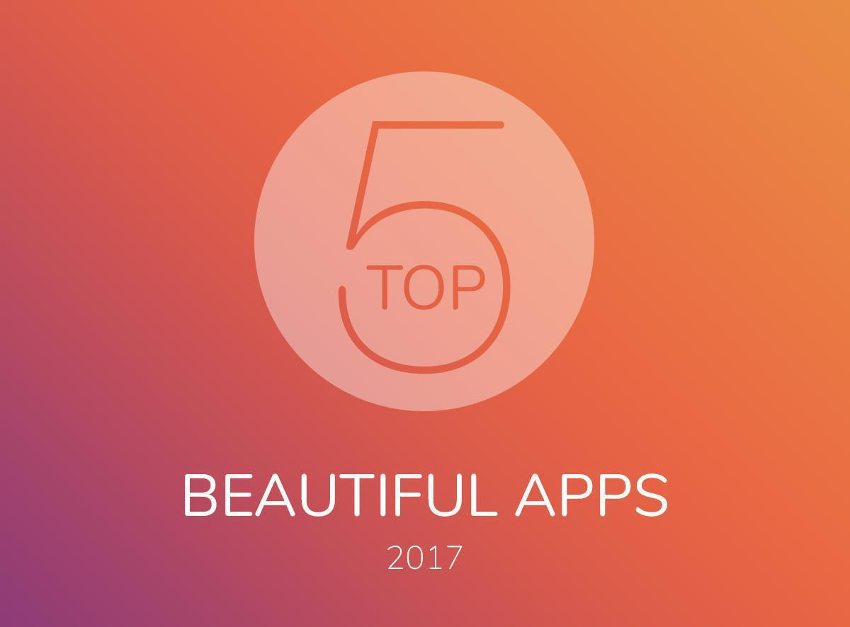 La Top 5 delle Beautiful App del 2017