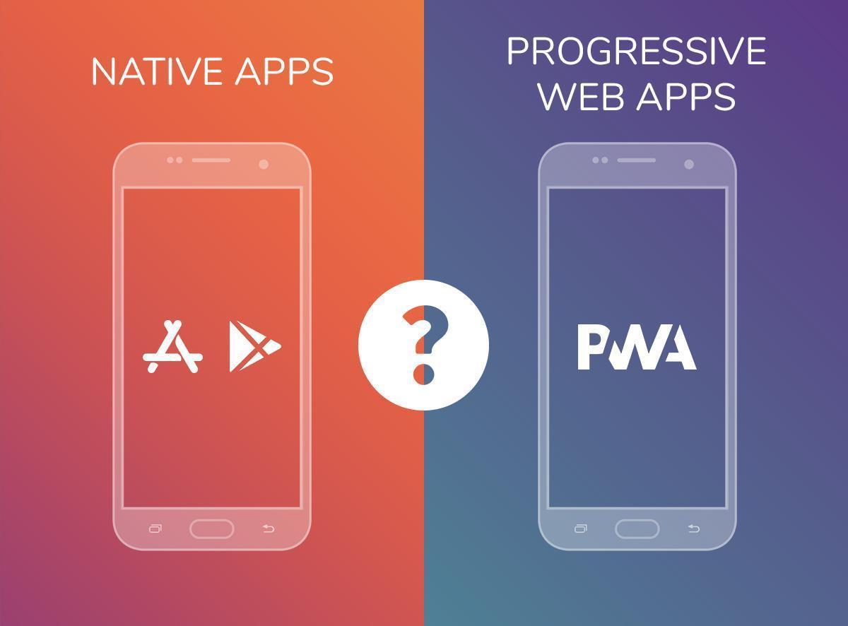 creare un'app: native o PWA