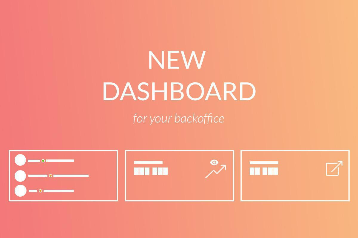Nuova dashboard per il tuo back office