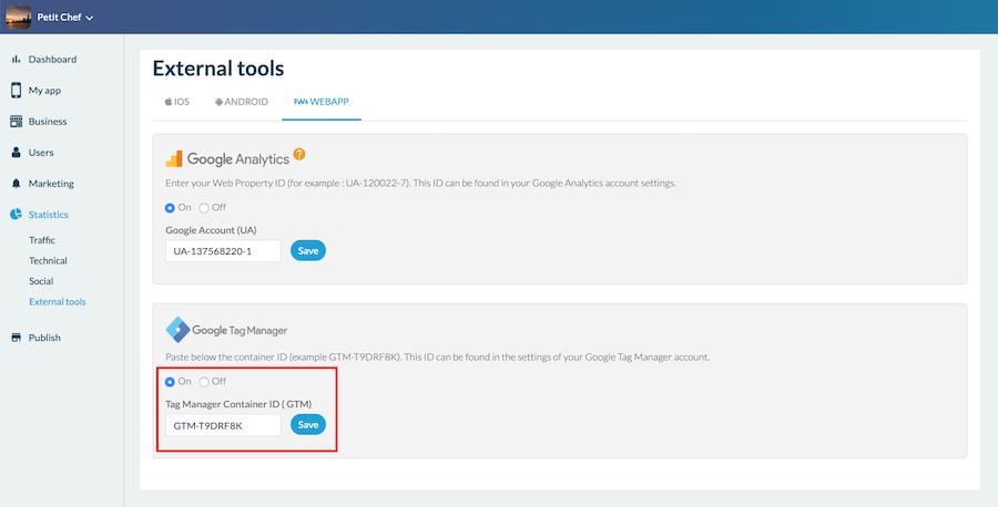 Gestisci facilmente i tuoi tag PWA con Google Tag Manager