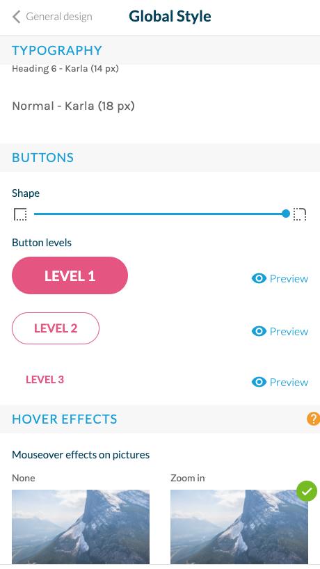 Nuovo aggiornamento del design per le tue app classiche