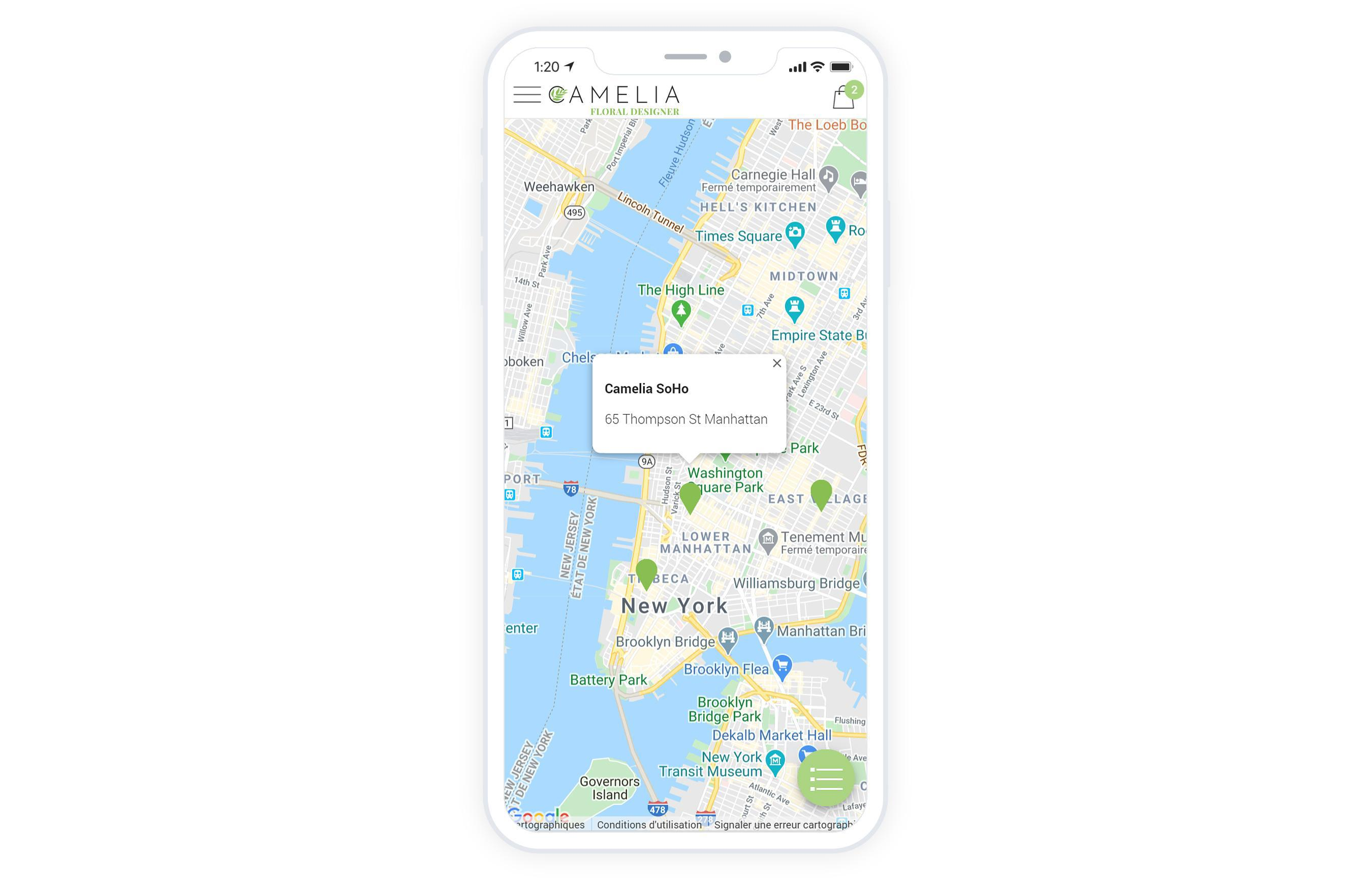 Lo Store Locator è ora disponibile per la tua shopping app