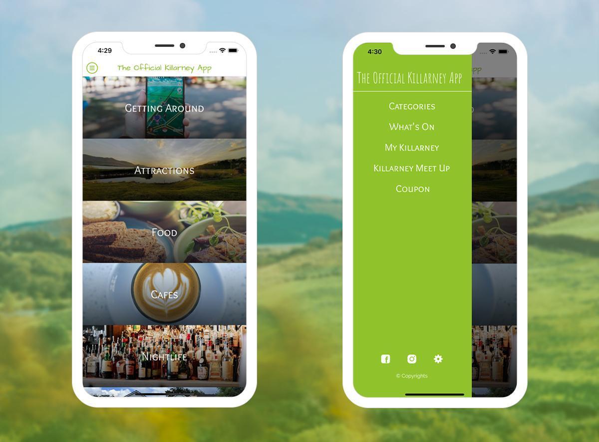 L'app ufficiale di Killarney - Aggiornamento