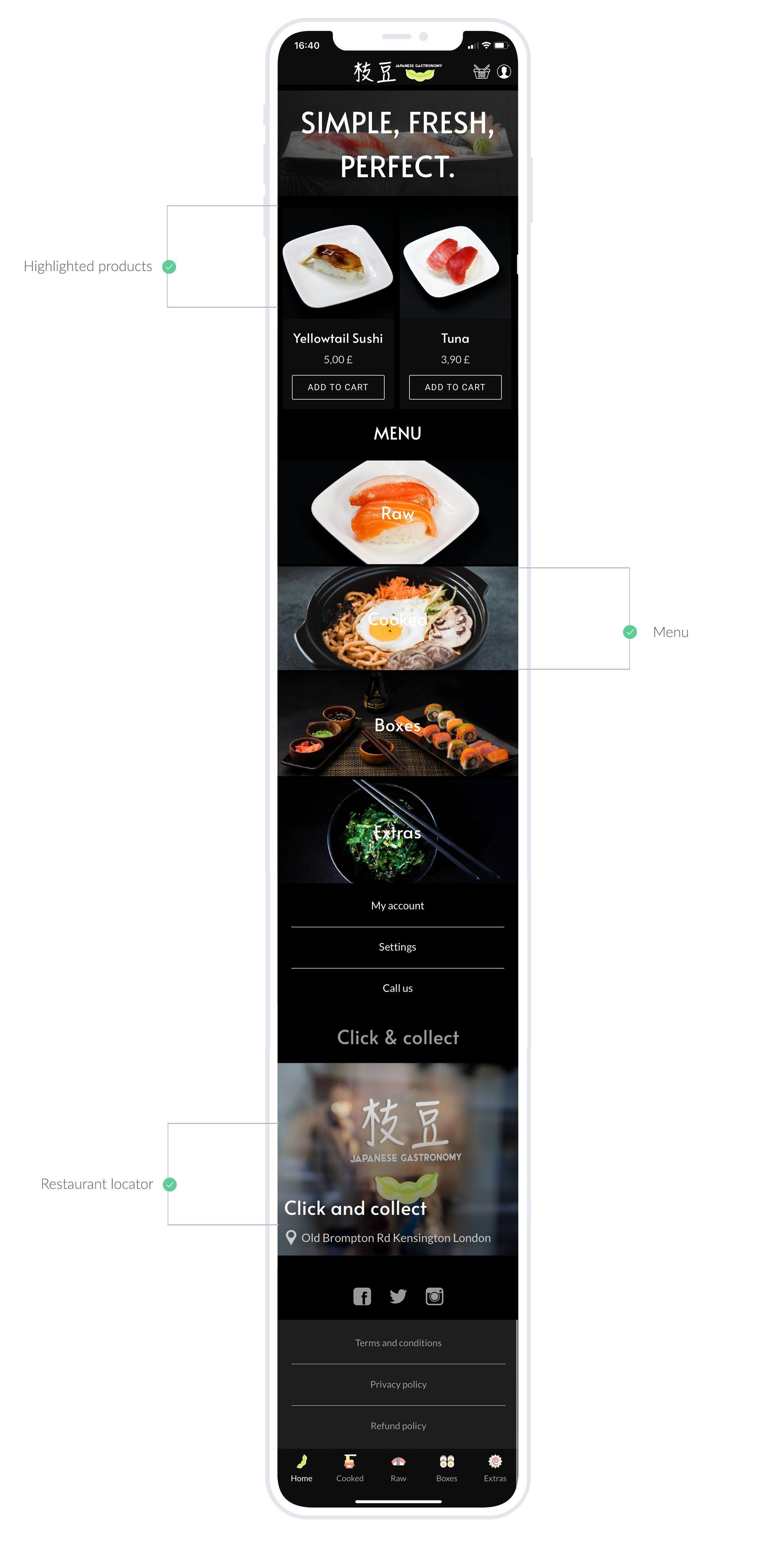 Ristorante Edamame: digitalizzazione di un ristorante familiare