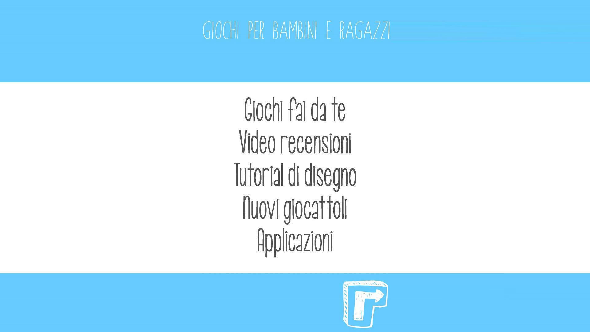 Giochi un 39 app con tante idee per giocare con i vostri for Idee application web