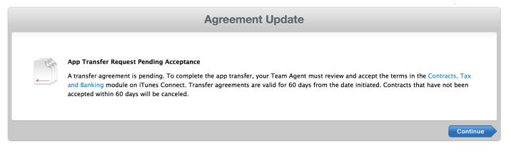 Un argomento per i Ninja di GoodBarber: Come trasferire un App iOS da un Developer Account ad un altro