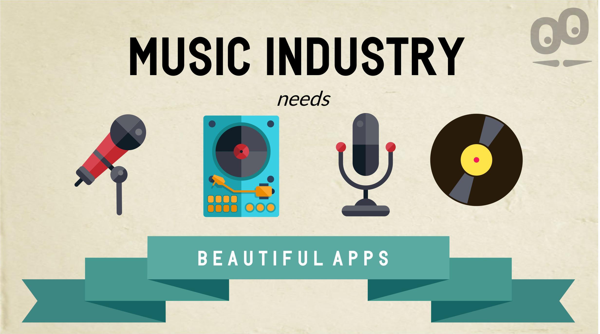 Le App e l'industria della musica