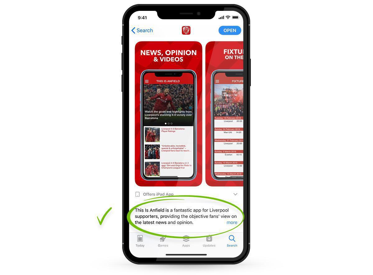 La descrizione della tua app sugli Store: 5 errori da evitare