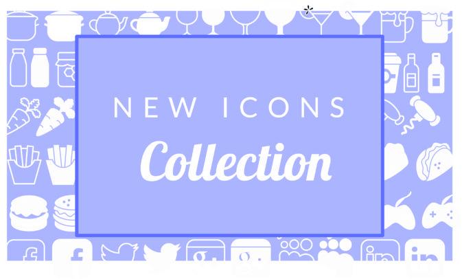 Più di 1500 icone per la tua App