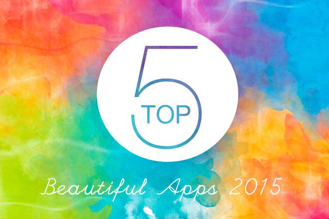 Top 5 Beautiful App del 2015