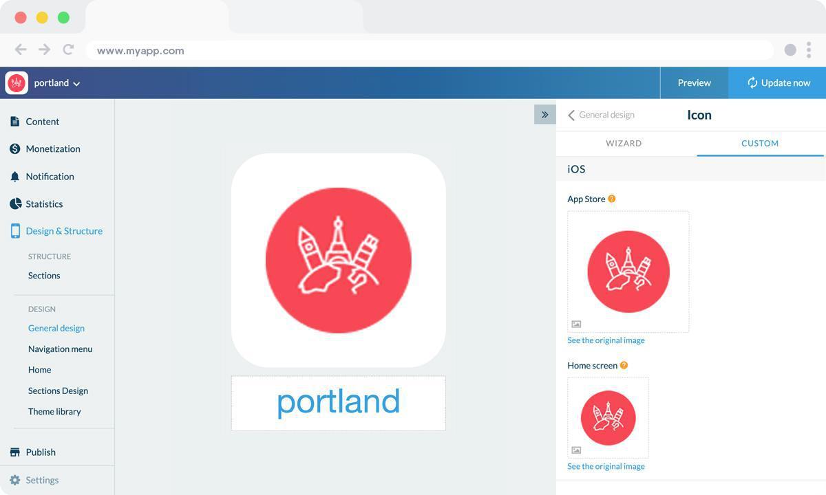 Come creare step by step un'app turistica della tua città