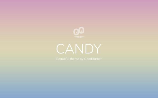 Nuovi temi GoodBarber 4.0: Candy