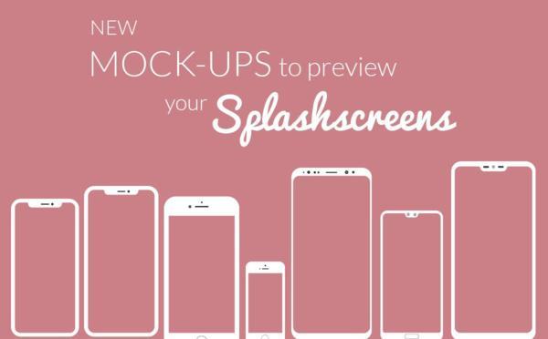 Nuovi modelli per visualizzare in anteprima gli Splash screen