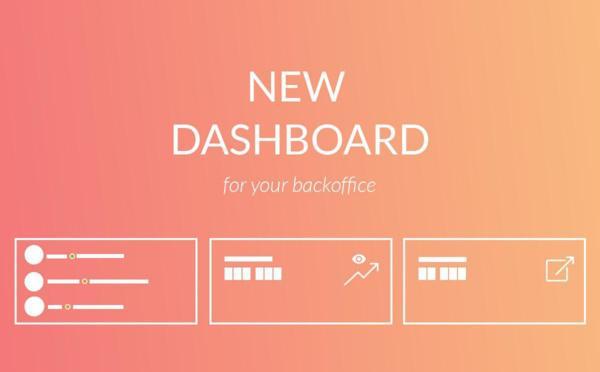 Nuova dashboard per il tuo back office