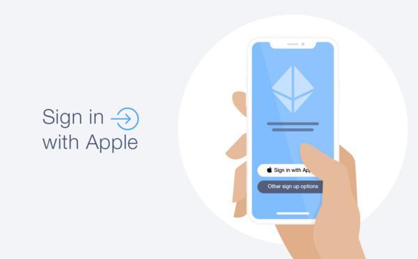 Accedi con l'autenticazione Apple
