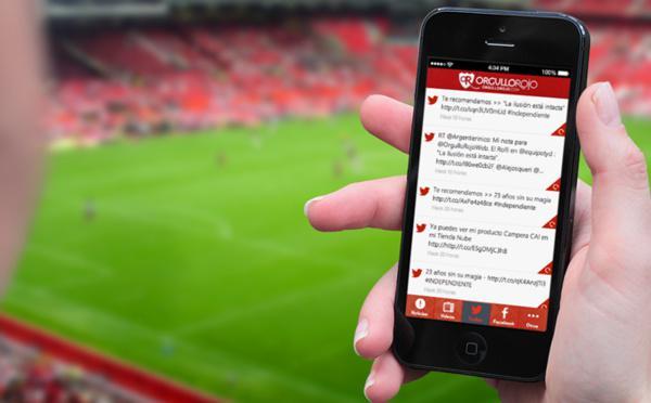 5 consigli per creare un'app per il Fun Club della vostra squadra di calcio!