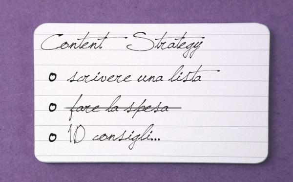 10 consigli per attuare una strategia di content marketing