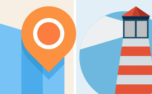 Beacon Vs. Geofencing #Infografica