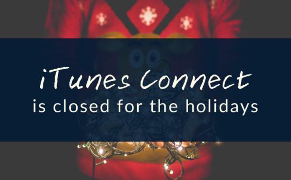 Vacanze invernali 2015 - iTunes Connect chiude per Natale