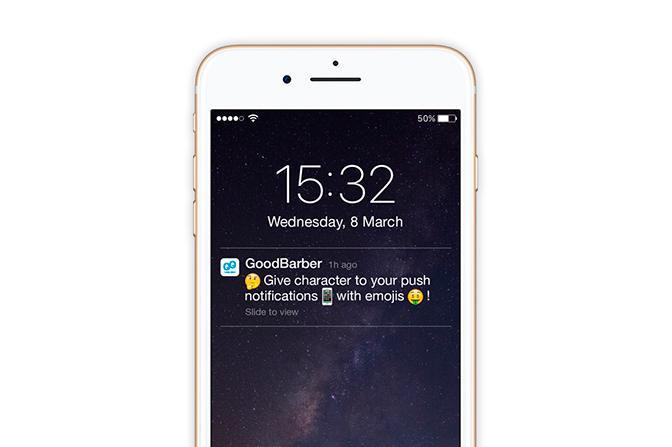 Dale vida a tus notificaciones push con emojis