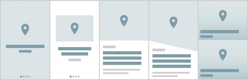Los nuevos 10 widgets de la sección Mapa