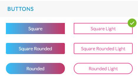 Nuevo menu Style Global: configuración del diseño facilitado