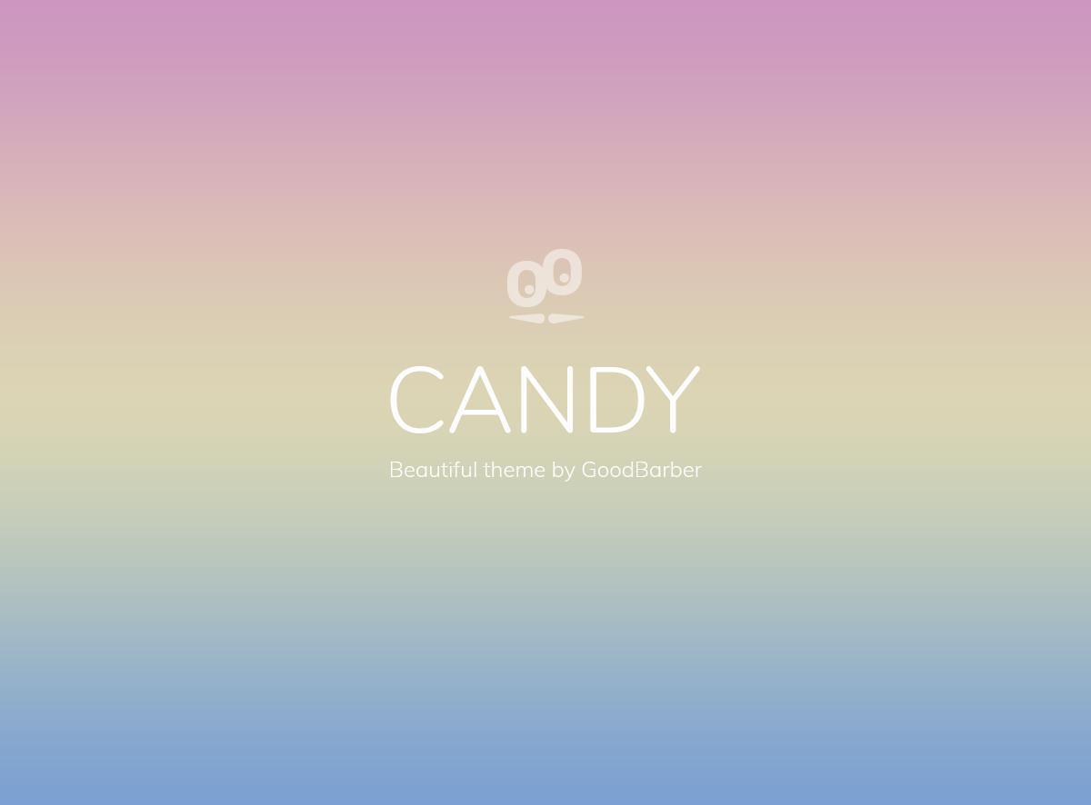 Nuevos temas GoodBarber 4.0: Candy