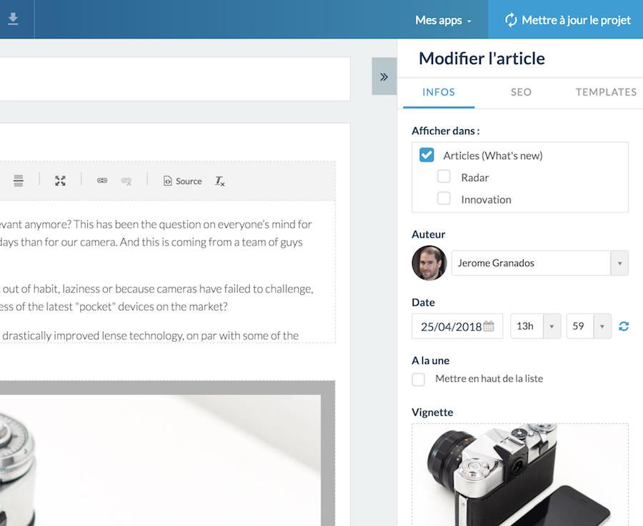 GoodBarber 4.5: velocidad y productividad para crear las apps del futuro