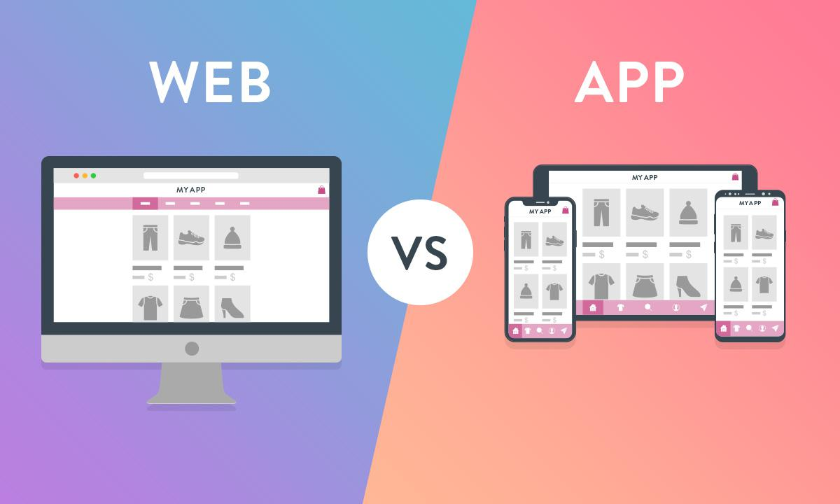 ¿Sitio web de compras o aplicación de compras?