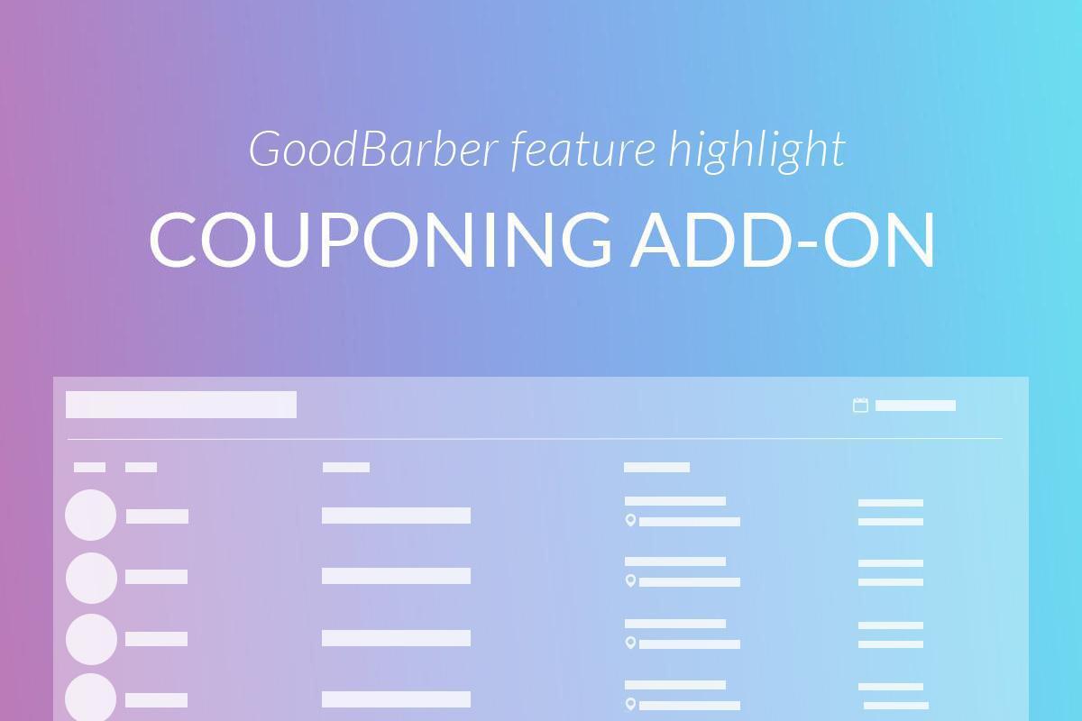 Características destacadas de GoodBarber: Cupones