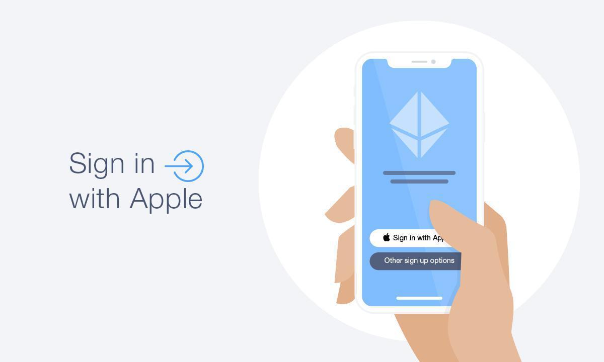 Inicia sesión con la autenticación de Apple